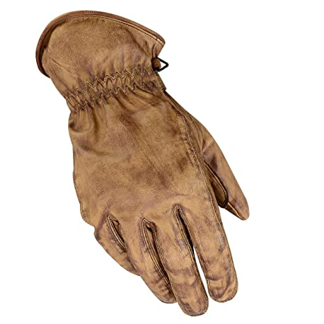 Herren Motorrad Handschuhe Biker Lederhandschuhe Racer Motorrad Handschuhe Neu
