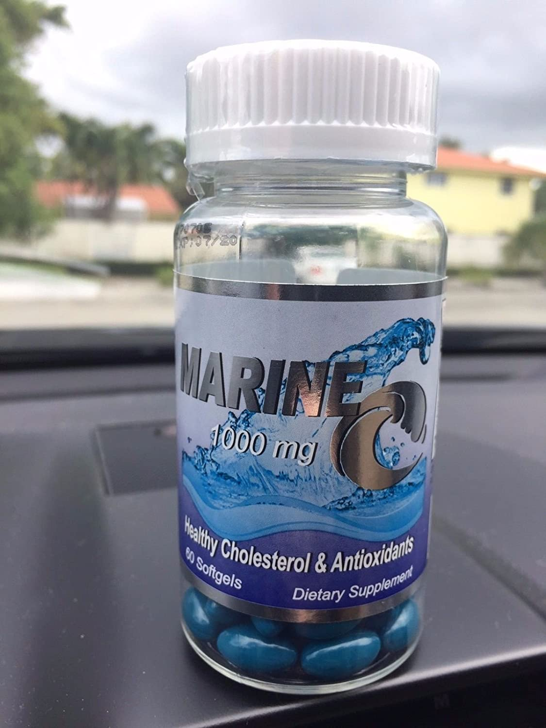 Amazon.com: Marine C 1000 mg , Colageno Marino Healthy Cholesterol Antioxidante Hidrolizado Fish Collagen: Health & Personal Care