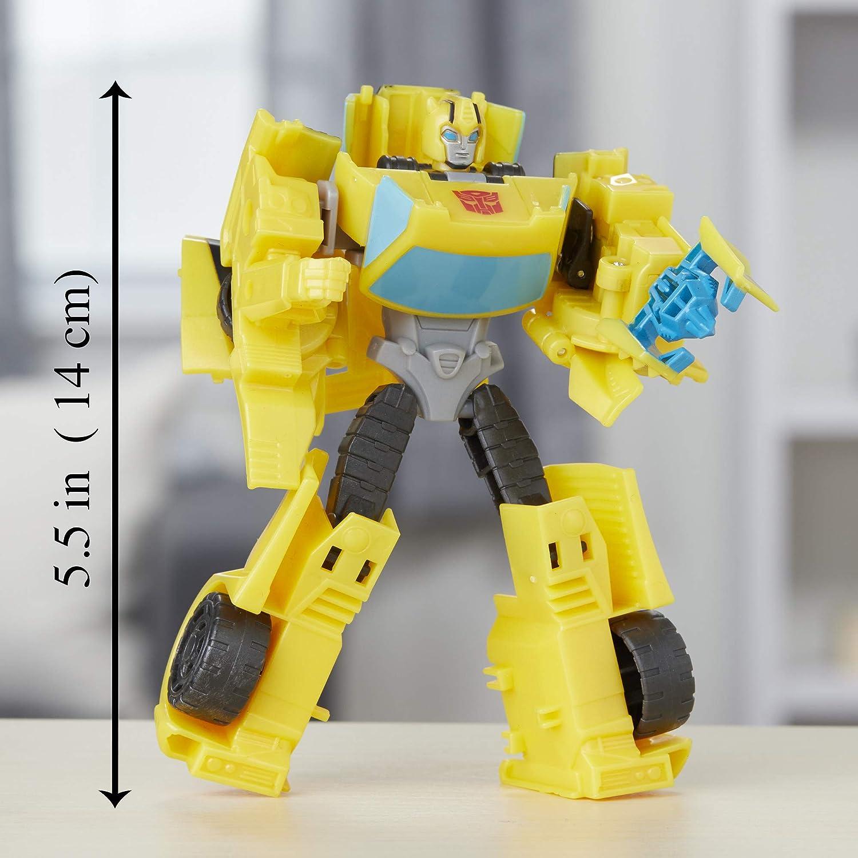 Hasbro Transformers Spielzeuge Cyberverse Warrior Action Attackers Optimus Prime und Starscream Action-Figur 2er-Pack F/ür Kinder ab 6 Jahren 13,5 cm