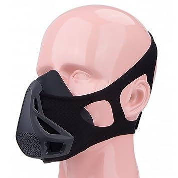 zerlar silicona 4 niveles resistencia formación deportes máscara para esquí ciclismo running correr Athletic Fitness,