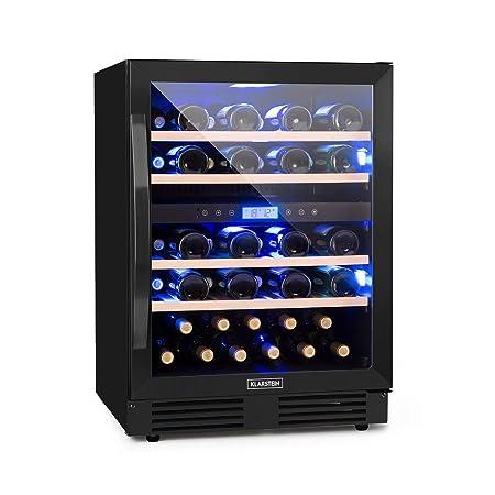 Klarstein Vinovilla Onyx 43 Vinoteca - 129 l, 43 botellas de vino ...