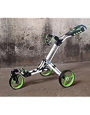 "Golftrolley Yorrx® SL Pro 7 HAMMA ""PLUS"" en vert, Alu-Pushtrolley / Golfwagen / Pushtrolley / Golfcart"