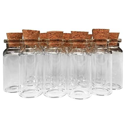 Amazon Axe Sickle 40ml Cork Jar Glass Bottles40 Pcs DIY Extraordinary Decorative Bottles With Corks