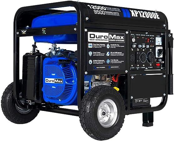 Amazon.com: DuroMax XP12000E generador de arranque elé ...