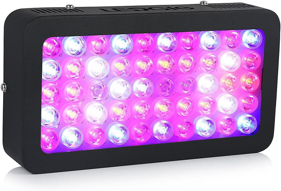 Amazon.com : LEDGLE LED Plant Grow Light 300W(50X6W) Full Spectrum with UV  IR Plant Grow Light for Outdoor Indoor Plant Veg and Flower Growing  Greenhouse Hydroponic : Garden & Outdoor
