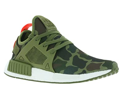 2017 New NMD XR 1 Olive Green, Black, green, white Camo XR 1 NMD Runner Originals Men Running Shoes Box Receipt Keychain