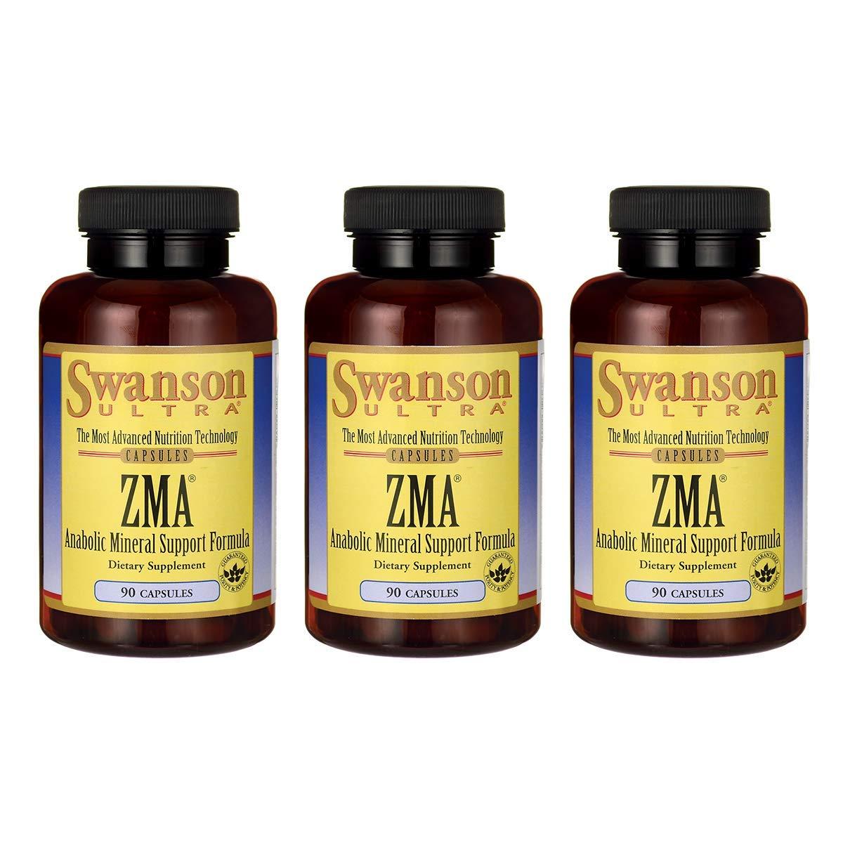 Swanson ZMA 90 Capsules (3 Pack)