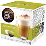 Nescafé Dolce Gusto Kaffeekapseln, Cappuccino, 3er Pack (48 Kapseln) 600g