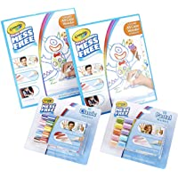 Crayola Color Wonder Mess Free Coloring Kit, 60 Blank Coloring Pages and 20 No Mess Markers, Gift