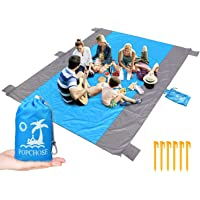 Popchose Packable Outdoor Blanket with 6 Stakes