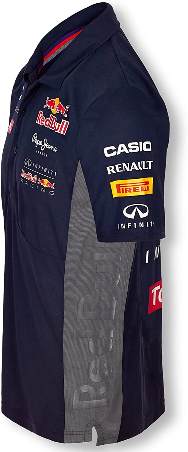 Pepe Red Bull Racing Collection OTL SS Functional Men Polo, Azul ...