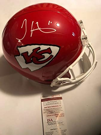 info for 7297f 88d8d Amazon.com: Tyreek Hill Autographed Signed Full Size Kansas ...