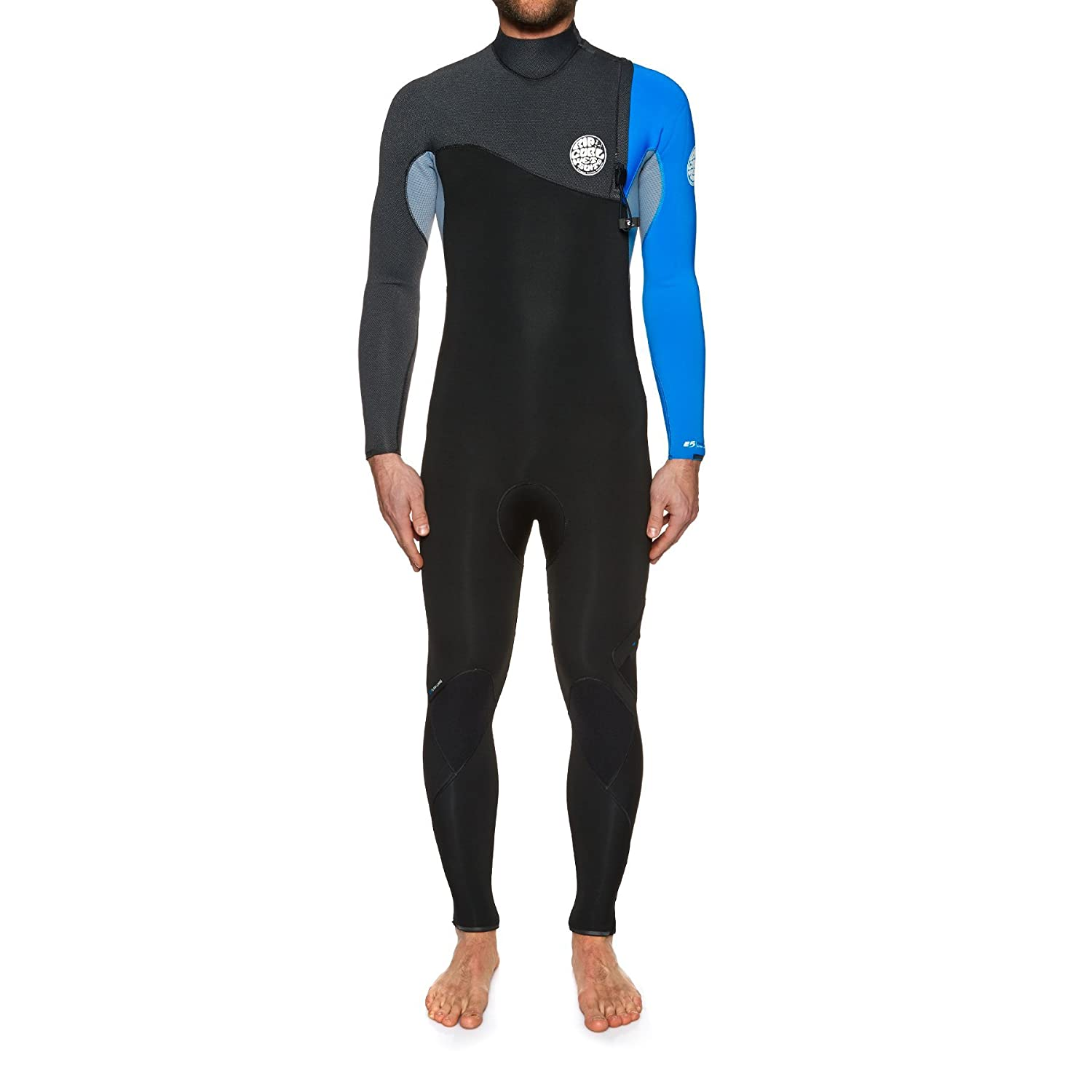 74cd7cfa4e RIP CURL Flashbomb 3/2MM Zip Free Wetsuit Blue -With Easy Stretch ...
