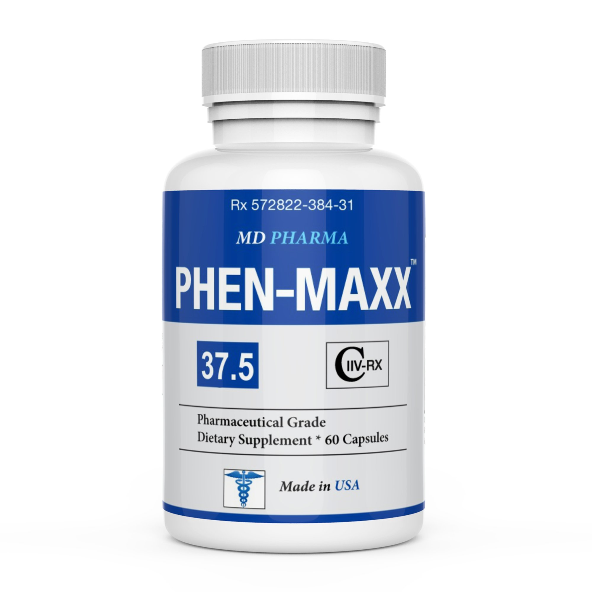 PHEN MAXX 37.5 ® - Weight Loss Pills - Fat Burner - Diet Pills - Appetite Suppressant - Diet Pills That Work Fast for Women and Men - Carb Block - Keto Friendly by PHEN MAXX 37.5 - Appetite Suppressant & Fat Burner