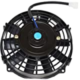 A-Team Performance Universal Type 120021 8 Inches High Performance 1700 CFM 12 Volts Electric Radiator Cooling Fan with…