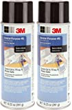 3M General IfEuE Purpose 45 Spray Adhesive, 10 1/4-Ounce (2 Pack)