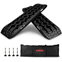 X-BULL New Recovery Traction Tracks Sand Mud Snow Track Tire Ladder 4WD (Black,3gen) photo