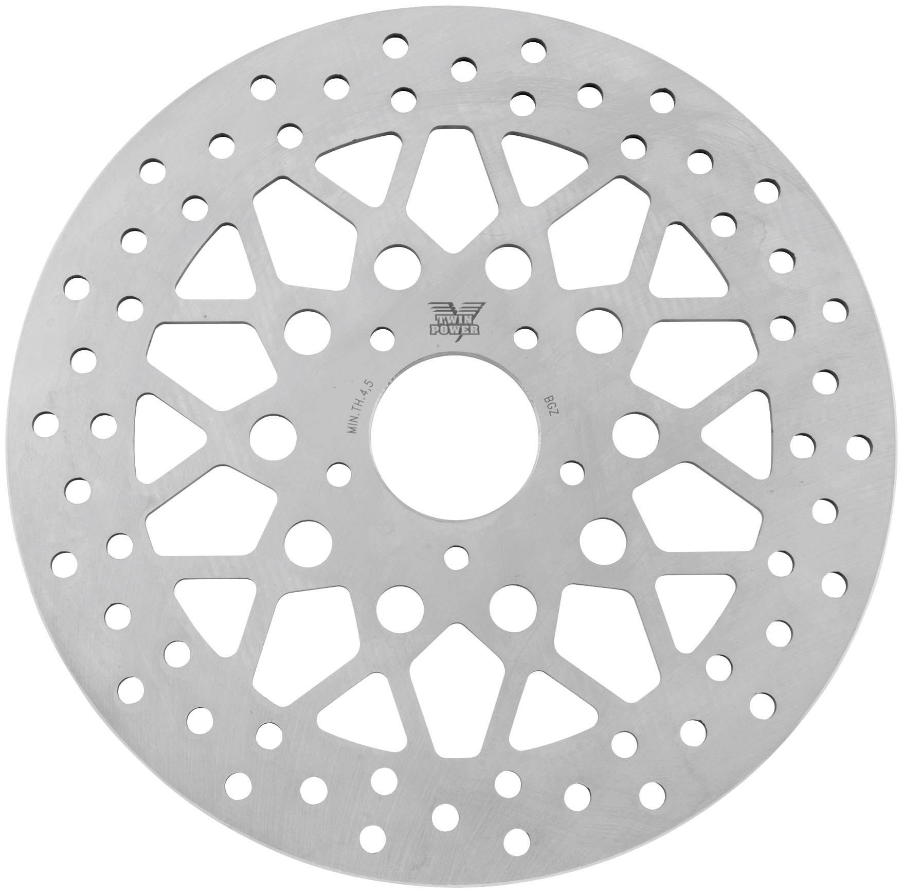 Twin Power Solid Mesh Rotor