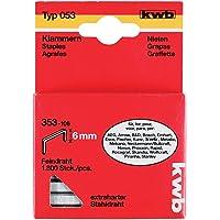 KWB 353-106 klemmen, fijne draad, standaard, type 053/353, C-punt