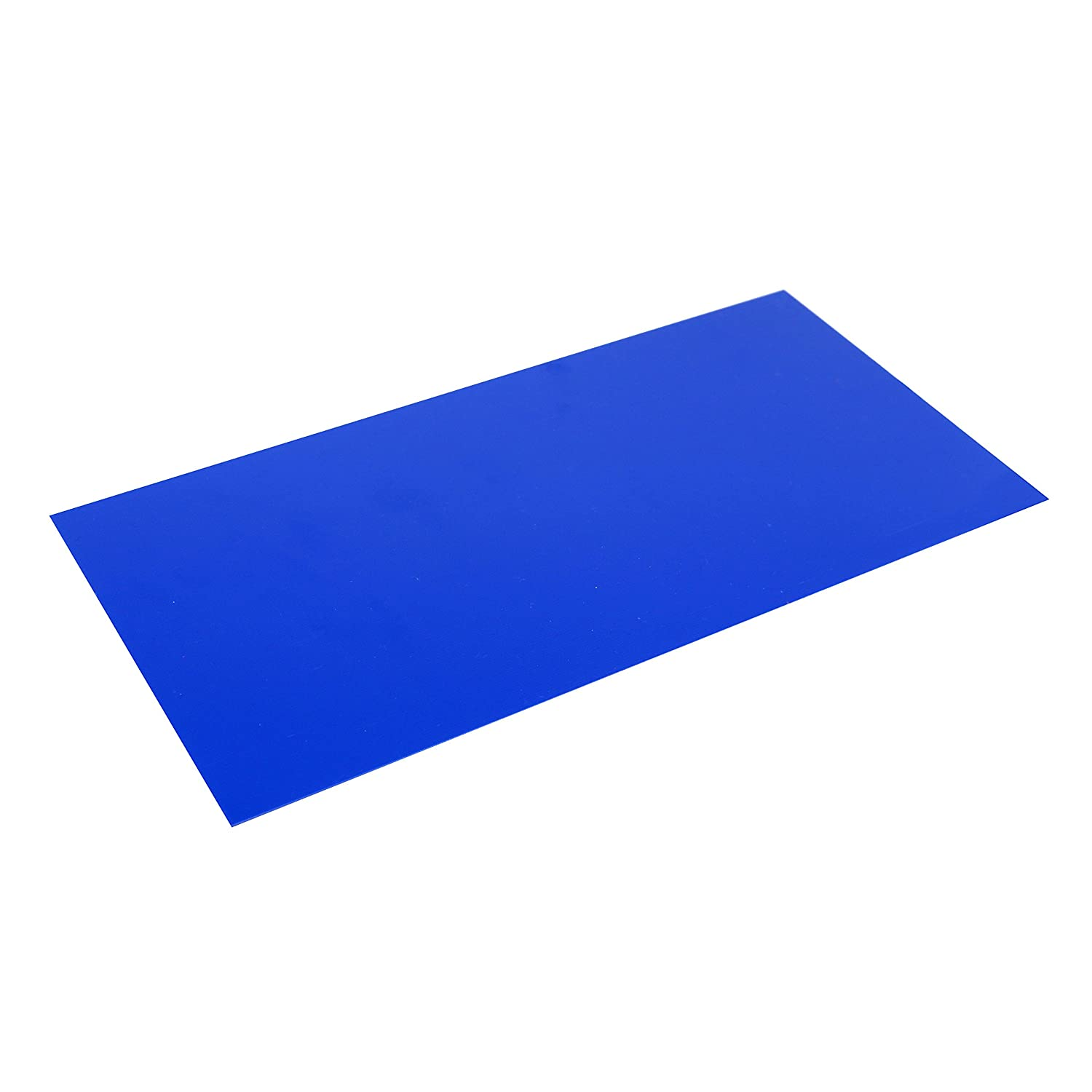 """G10 Spacer 5"""" X 10"""" X 1/32"""" Handle Material for knife making & gun making, (Blue)"""
