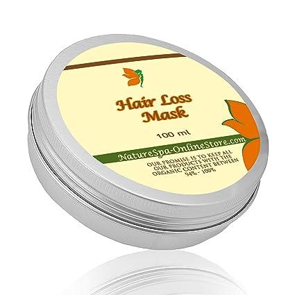 Máscara de pelo realmente eficaz en caso de caída del pelo y de pérdida de cabello