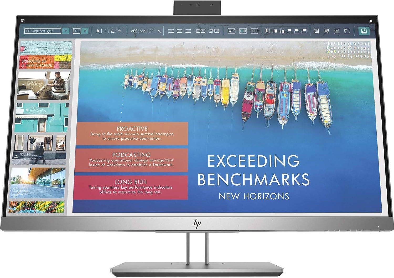 "HP Business E243d 23.8"" LED LCD Monitor - 16:9-7 ms GTG - 1920 x 1080-250 Nit - Full HD - Webcam - HDMI - VGA - DisplayPort - USB - 155 W - Australia/New Zealand MEPS, WEEE, Vietnam MEPS, CTU"
