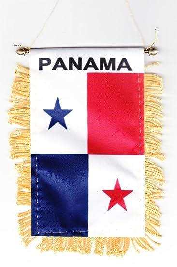 Amazoncom Mini Banner Panama Auto Mirror X Flag Outdoor - Panama flags