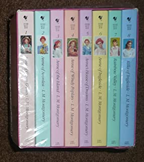 Anne Of Green Gables Complete 8 Book Box Set Anne Of Green Gables