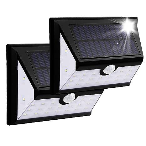 Luces solares al aire libre del sensor de movimiento de la seguridad - Luces solares del