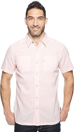 647194da598 Columbia Men s Harborside Slim Fit Linen Camp Shirt Cupid Yacht Button-up  Shirt