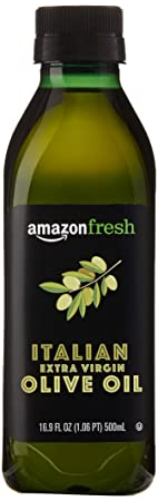 AmazonFresh Italian Extra Virgin Olive Oil, 16.9 fl oz (500mL)