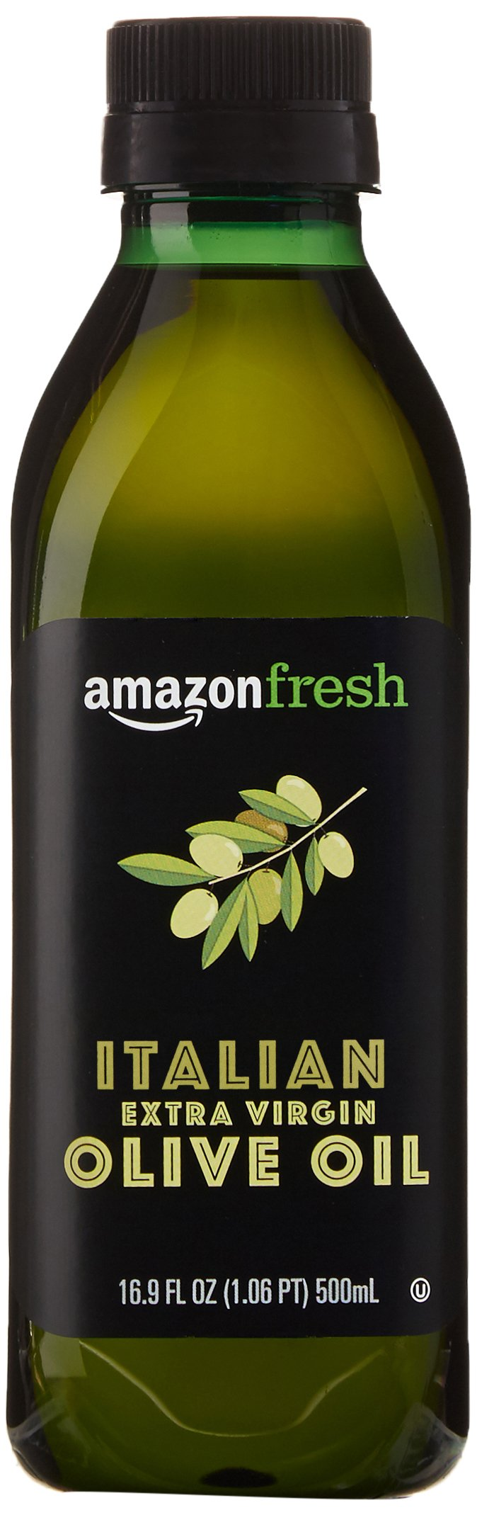 AmazonFresh Italian Extra Virgin Olive Oil, 16.9 fl oz (500mL) 1 A smooth blend with subtle notes of pepper and herbs Pressed and bottled in Italy Use for cooking, grilling, and in finishing dishes