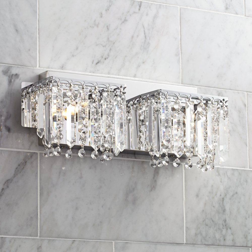 Possini Euro Design Hanging Crystal 16 1/2