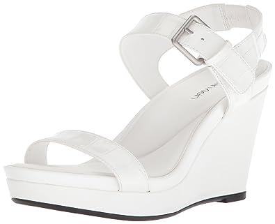 40be58064041c Amazon.com | Calvin Klein Women's Jacie Sandal | Platforms & Wedges