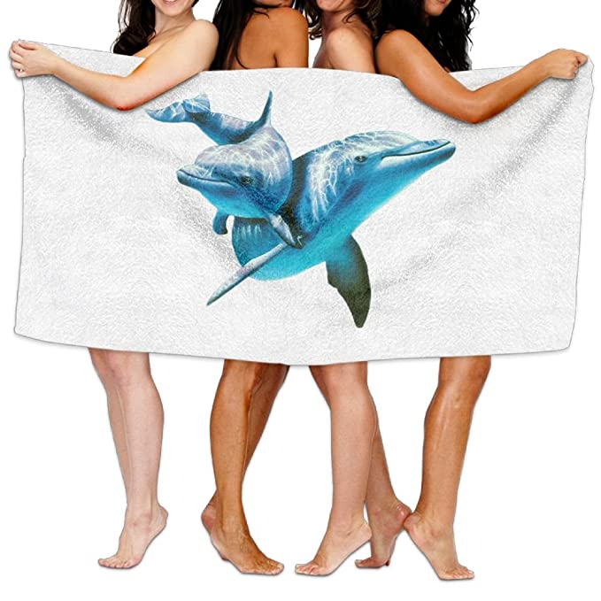 Polo Spot Dolphin - Toalla de baño para playa: Amazon.es: Hogar