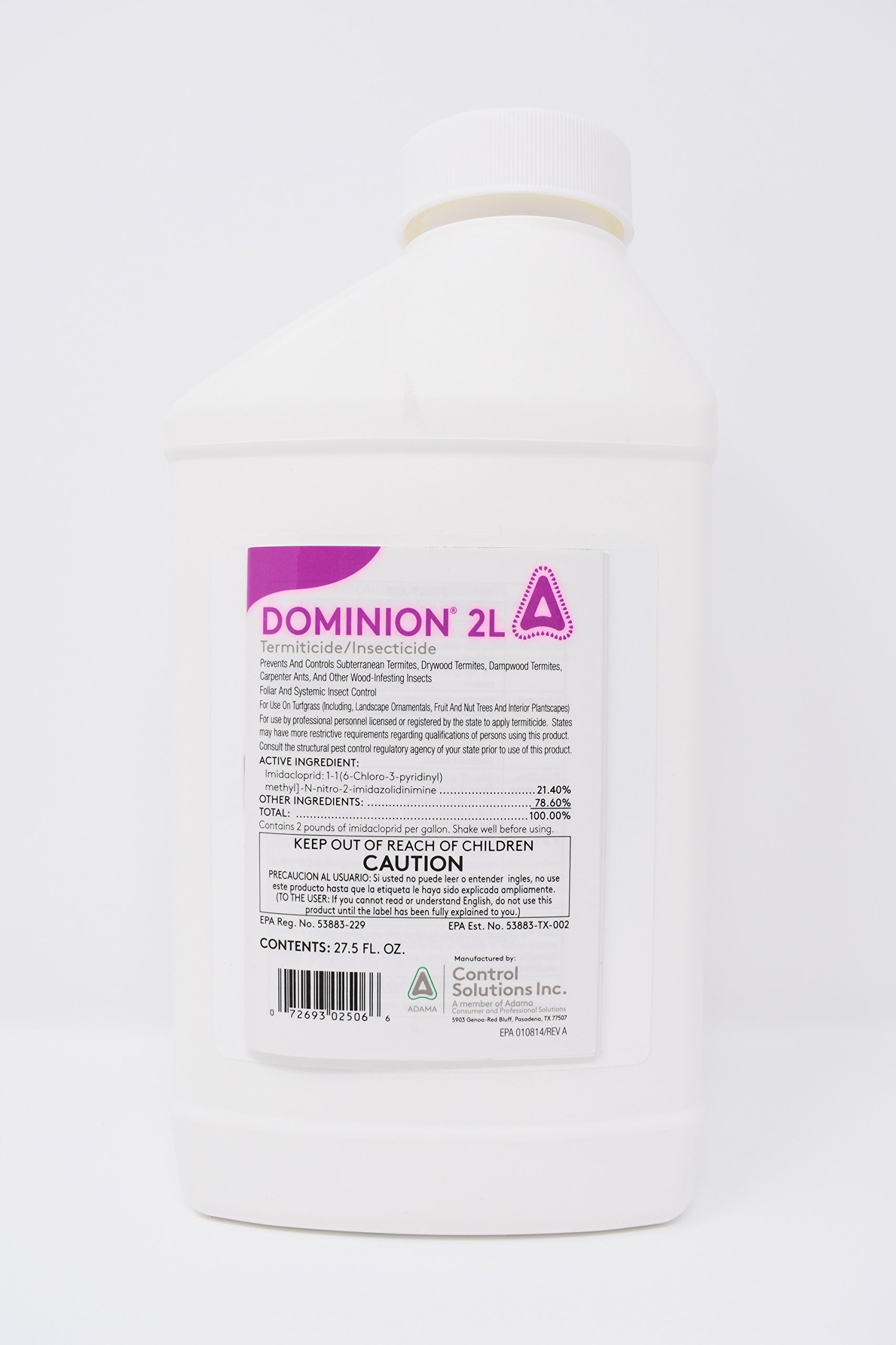 Dominion 2l, Professional Termite Control,termidor,termiticide Concentrate by Dominion 2L