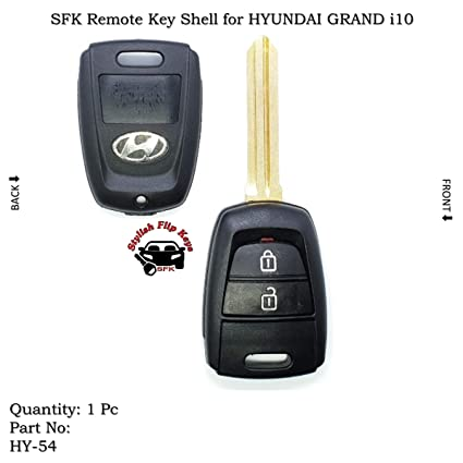 Sfk Replacement Remote Key Shell For Hyundai Grand I10 Amazon In
