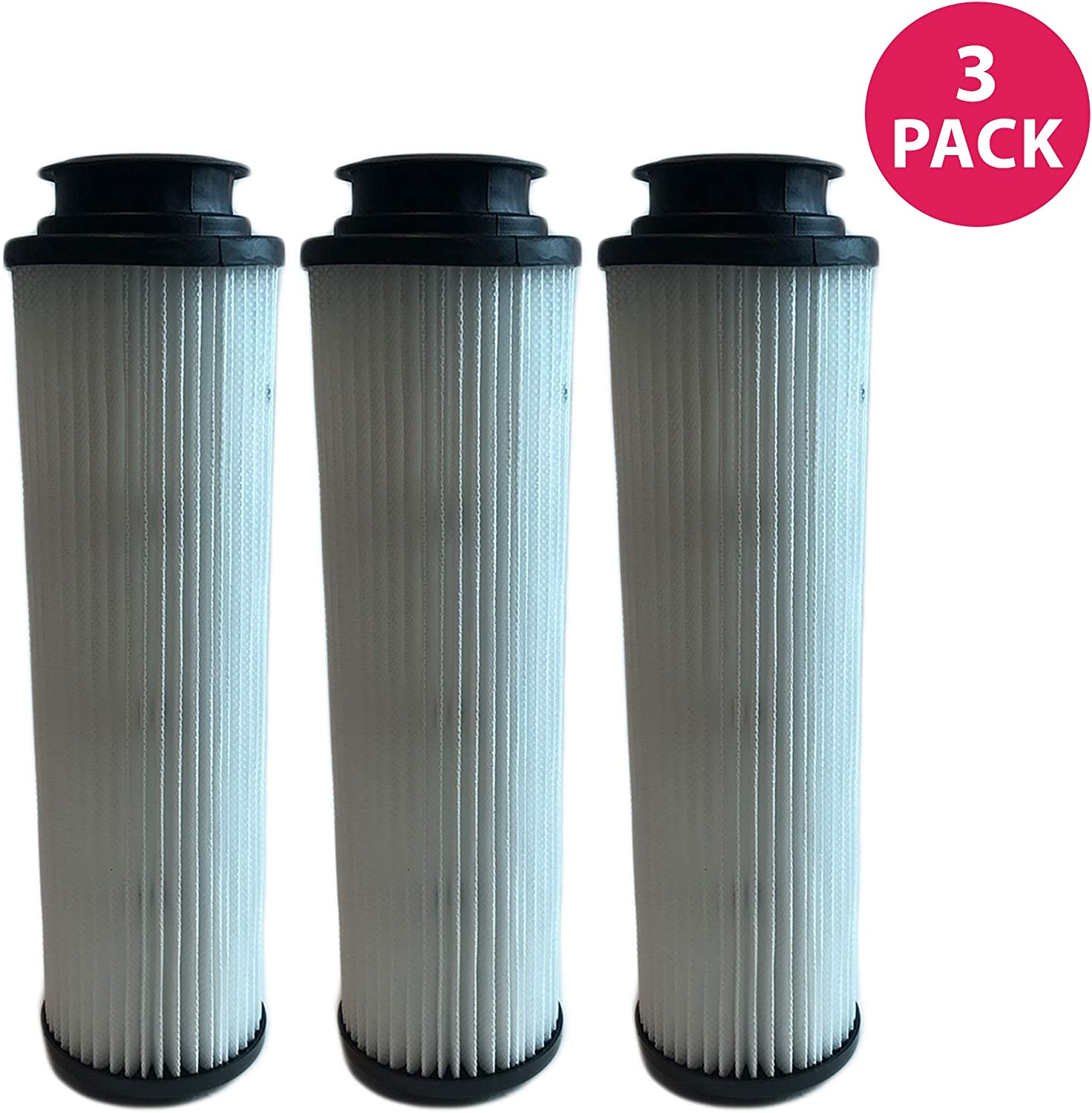 Crucial Vacuum Filter Replacement Parts Compatible with Hoover Part # 471062, 40140201, 43611042, 42611049, F923 - Fits Hoover Windtunnel Bagless HEPA Style Filter - Perfect Filters - Bulk (3 Pack)