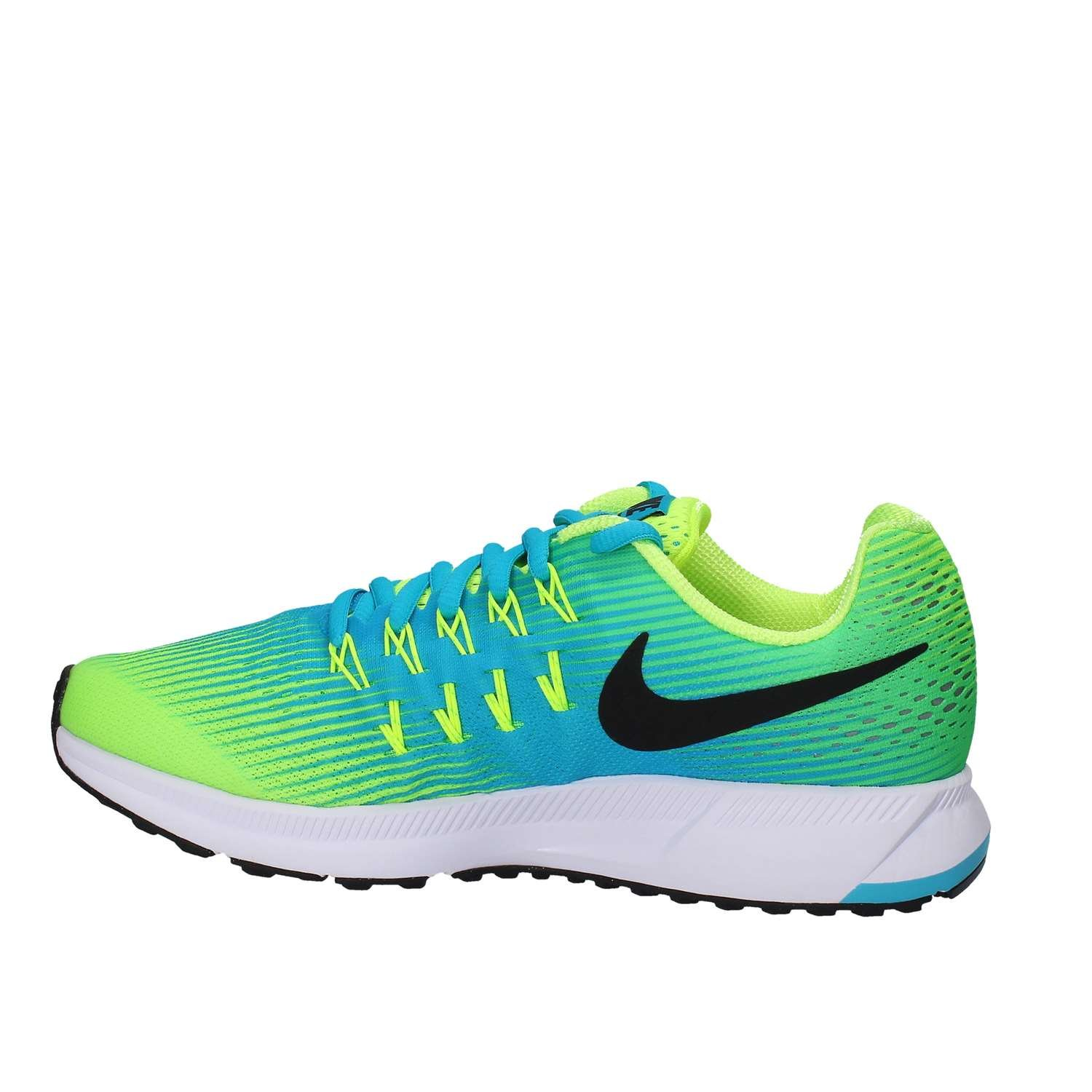 Volt Black Chlorine Blue Nike Kid Pegasus 33 Shoes Nike Pegasus ... 78da09028