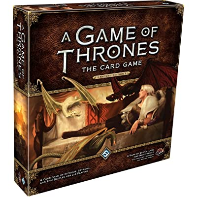 A Game of Thrones LCG (Second Edition): Eric M. Lang, Nate French, Christian T. Petersen, Michael Hurley: Toys & Games
