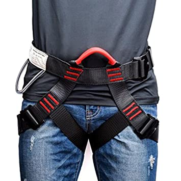 SehrGo Thicken Climbing Harness, Protect Waist Safety Harness, Wider