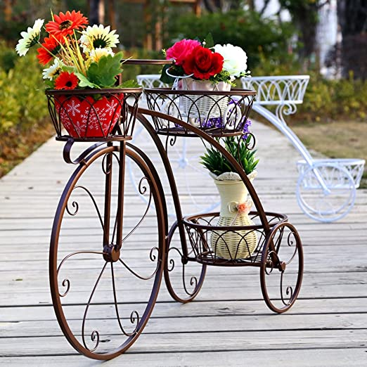 Soporte de la flor Soporte de la planta Maceta de macetero Estante ...