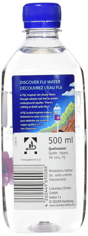 Fiji Water 500ml, 24er Pack (24 x 500 ml): Amazon.de: Lebensmittel ...