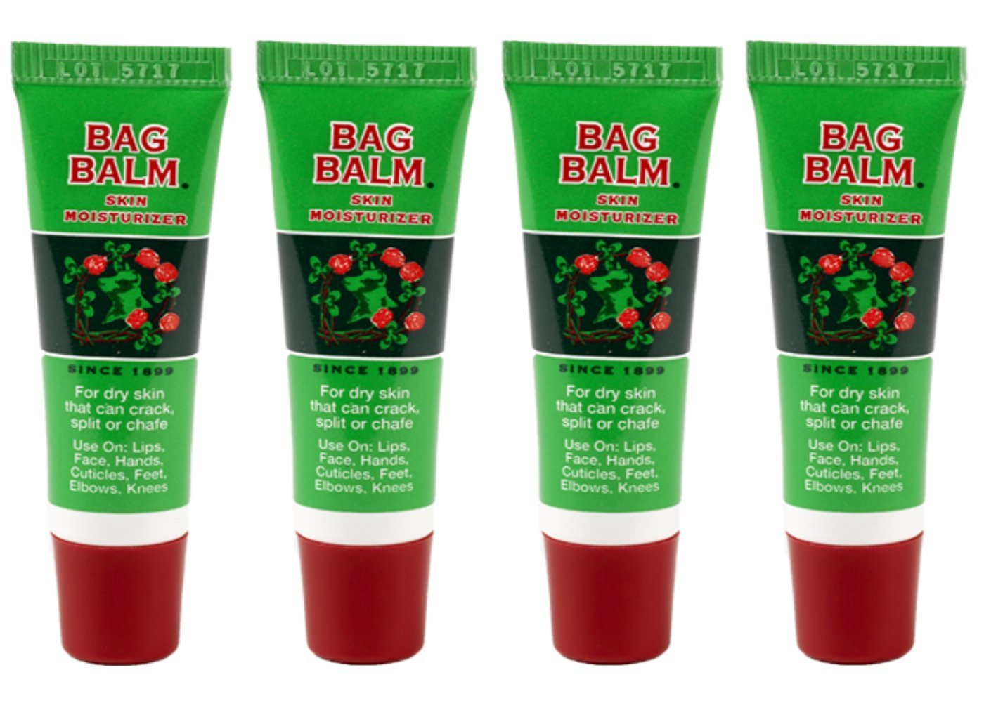 Vermonts Original Bag Balm 8 Ounce Skin Moisturizer For Rose Lips Vaseline Lip Therapy Mini The Petroleum Jell Ori 025 On Go Tube 4 Pack