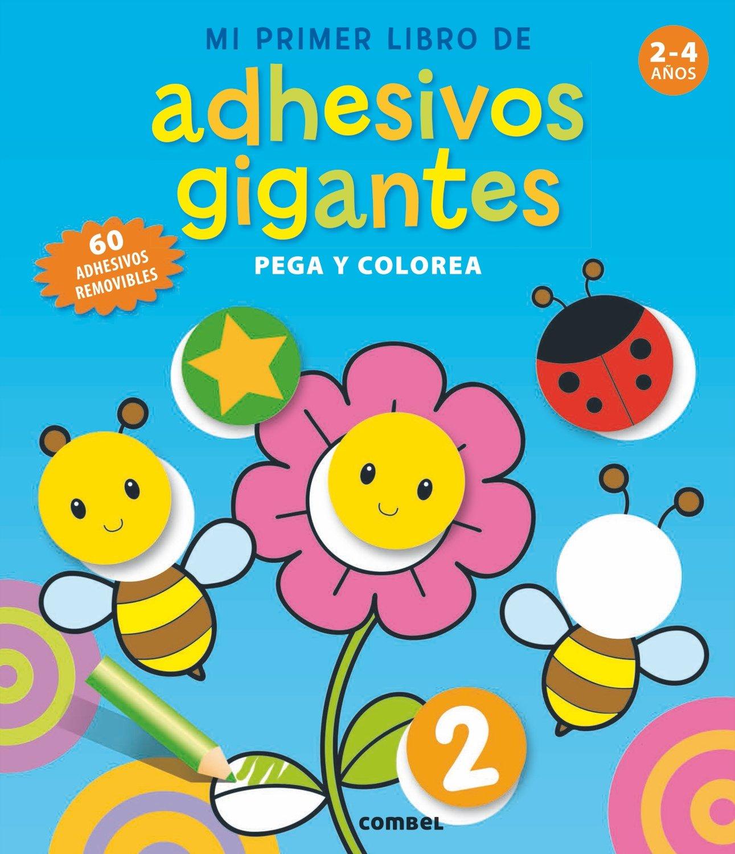 Mi primer libro de adhesivos gigantes Libros Actividades: Amazon.es ...