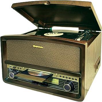 Roadstar HIF-1937TUMPK Giradiscos, CD: Amazon.es: Electrónica