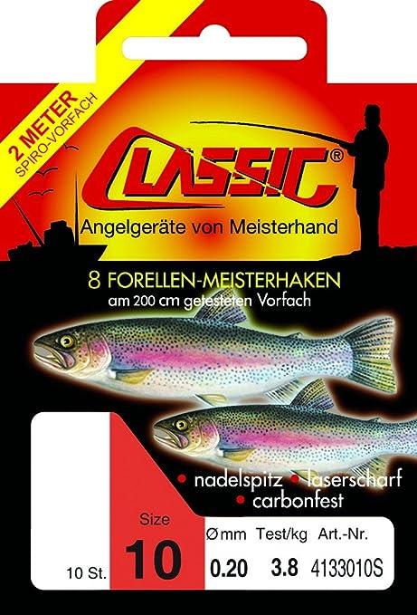 Paladin Classic Spirolino Forellen Meisterhaken 200cm