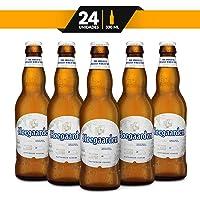 Cerveza Importada Hoegaarden Wit, 24 botellas de 330ML
