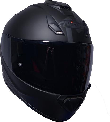 /Casco integrale oscurante nero lucido Nitro N3100/uno/