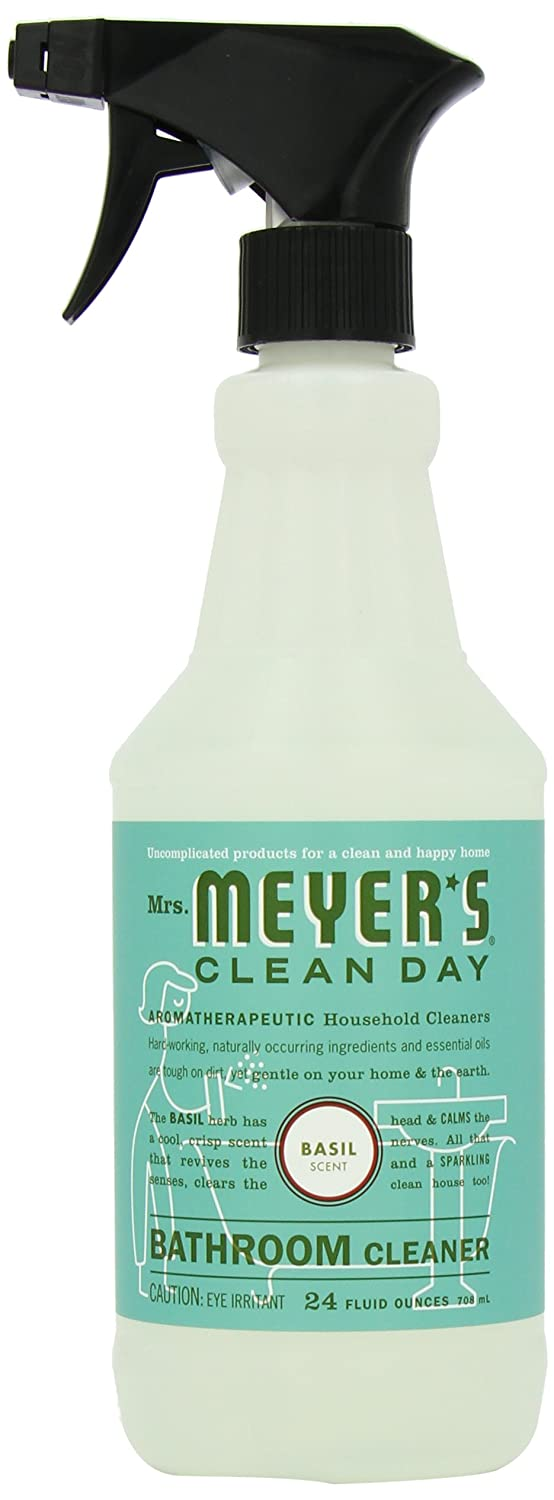 amazon com mrs meyer s clean day bathroom cleaner basil 24 amazon com mrs meyer s clean day bathroom cleaner basil 24 ounce health personal care